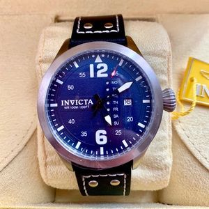 Invicta I-Force Mens Watch Steel Blue: Model 24317